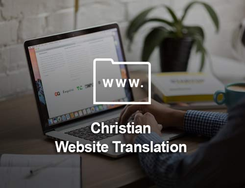 Christian Website Translation