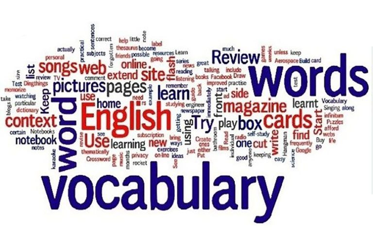 learning vocabularies